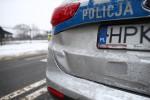 Dwóch policjantów zostało rannych w wypadku w Rozwadowie.
