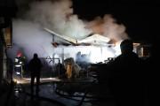 Działania straży zakończono o 3:00 w nocy. Przypuszczalnej przyczyną pożaru nie ustalono.