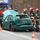 Stalowa Wola: DW-871: skoda wypadła z łuku drogi. Ranny kierowca