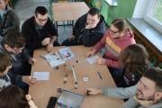 Miłośnicy retro spotkali się w sobotę w Samorządowym Liceum Ogólnokształcącym przy ulicy Wojska Polskiego.