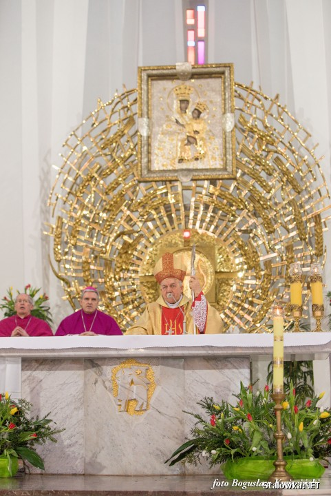 Bazylika Konkatedralna: 30 rocznica sakry bp Edwarda Frankowskiego.