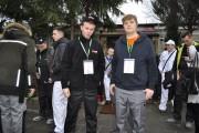 Z lewej Aleksander Siek zdobył III miejsce i został laureatem turnieju, Adam Pałka - zajął VI miejsce i ma tytuł finalisty