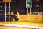 Kolizja na Alejach Jana Pawła II. Zderzył się autobus z samochodem osobowym.