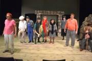 Folwark zwierzęcy wg Georga Orwella w wykonaniu Teatru Ludowego Tradycja z Alwerni.
