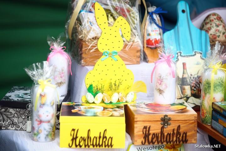 Jarmark Wielkanocny na Placu Piłsudskiego w Stalowej Woli.