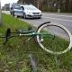 Stalowa Wola: DK77: wjechał rowerem pod samochód. Cudem nie doszło do tragedii