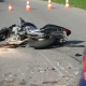 Stalowa Wola: 27-letni motocyklista zderzył się czołowo z osobówką. Trafił do szpitala