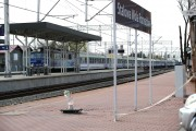 Pociąg w jedną jak i drugą stronę przejechał wolno przez Stalową Wolę nie zatrzymując się na stacjach.