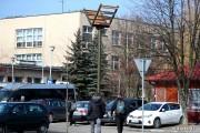 Jedna z budek stanęła przy SLO w Stalowej Woli na ulicy Wojska Polskiego.