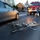 Stalowa Wola: DK77: 56-letni rowerzysta wjechał w przejeżdżający samochód