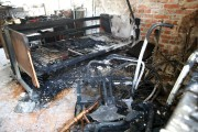 W pożarze mieszkania spalił się niepełnosprawny 68-letni mężczyzna.