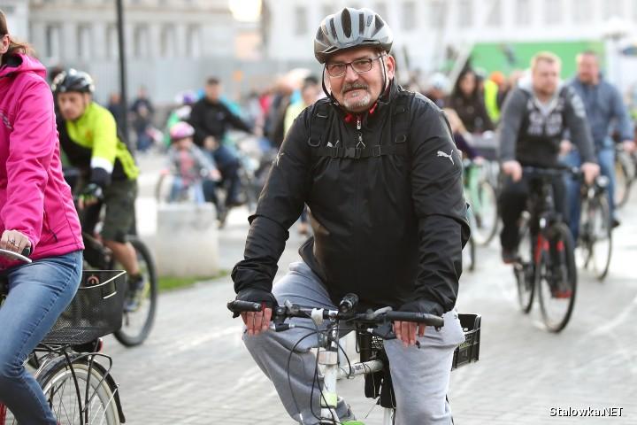 XII Rowerowa Masa Krytyczna w Stalowej Woli.