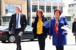 Stalowa Wola obok Tarnobrzega i Niska była sobotnim punktem na mapie wydarzenia EuroTour z Marszałek Sejmu RP Małgorzatą Kidawą - Błońską. Przed Biblioteką Międzyuczelnianą polityk w towarzystwie kandydatek do Europarlamentu: Renatą Butryn i Elżbietą Łukacijewską z Koalicji Europejskiej wraz z osobami je wspierającymi, spotkały się z mediami na konferencji prasowej.