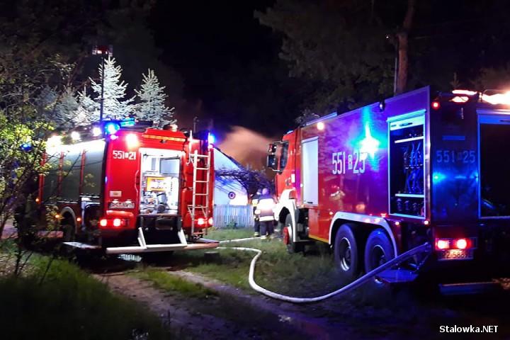 Do pożaru doszło w miejscowości Antoniów.