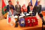 20 maja 2019 roku podpisano umowę na dokumentację dla drogi ekspresowej S-74.