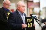 Na Rynku w Rozwadowie odbyło się spotkanie działaczy Inicjatywy Samorządowej 2018, którzy za pośrednictwem mediów chcą zwrócić uwagę na zagrożenia jakie niesie za sobą ustawa 447 w kontekście roszczeń żydowskich.