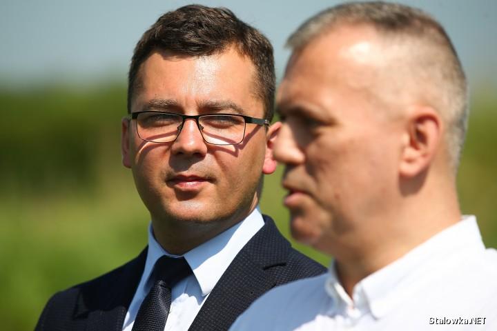 Od lewej: Damian Marczak, Andrzej Szymonik.