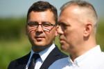 Od lewej: Damian Marczak, Andrzej Szlęzak, Andrzej Szymonik.
