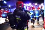 Trwa szacowanie strat po pożarze w markecie spożywczym na ulicy Okulickiego w Stalowej Woli.