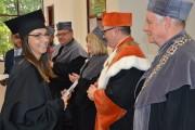 Tytuły ukończenia uczelni obroniło 159 absolwentów. Na uroczystości władze uczelni wręczyły dyplomy 85 magistrom i licencjatom.