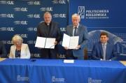 W minioną sobotę na Wydziale Mechaniczno-Technologicznym Politechniki Rzeszowskiej w Stalowej Woli doszło do podpisania kolejnej umowy o współpracy między Politechniką Rzeszowską i Katolickim Uniwersytetem Lubelskim Jana Pawła II.