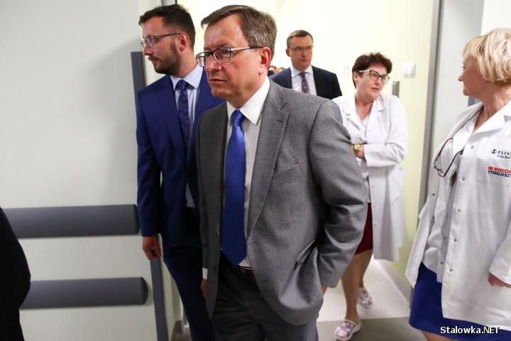 Otwarcie bloku operacyjnego w szpitalu w Stalowej Woli.