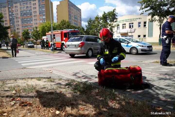 Do potrącenia rowerzystki doszło na ulicy Wojska Polskiego w Stalowej Woli.
