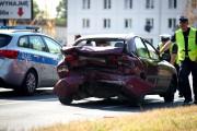 Na miejscu pracowali policjanci ze stalowowolskiej drogówki, Wyjaśniane są okoliczności zdarzenia.