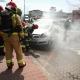 Stalowa Wola: Pożar zaparkowanego auta przy Hali Targowej