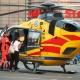 Stalowa Wola: Wezwano śmigłowiec LPR do rannego 12-letniego rowerzysty