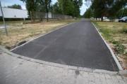 W najbliższym czasie zostaną namalowane znaki poziome oraz piktogramy, oddzielające chodnik od ścieżki rowerowej.