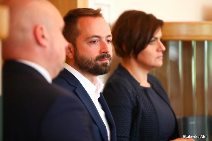 Władze Tauronu w towarzystwie władz miasta i przedstawicieli parlamentu spotkały się z dziennikarzami.