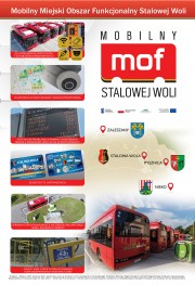 Mobilny MOF dla Stalowej Woli i gmin ościennych. W zakresie komunikacji miejskiej jest to prawdziwa rewolucja technologiczna, która stawia stalowowolską komunikację w czołówce miast w zakresie elektromobilności.