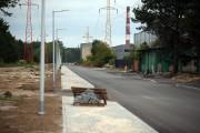 Za półtora miesiąca zakończy się w Stalowej Woli przebudowa drogi biegnącej przez dawne tereny Huty Stalowa Wola od ul. COP do ul. Solidarności. Arteria jest już w części przejezdna.