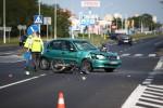 Do zdarzenia z udziałem motorowerzysty doszło na ulicy Komisji Edukacji Narodowej w Stalowej Woli.