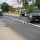 Stalowa Wola: SSG: 40-letni rowerzysta wjechał na czerwonym. Doszło do potrącenia