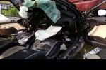 W miejscowości Skowierzyn autobus PKS zderzył się z samochodem osobowym.