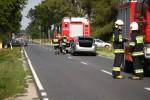 Do wypadku doszło w Rzeczycy Długiej. Dwie osoby zostały ranne.
