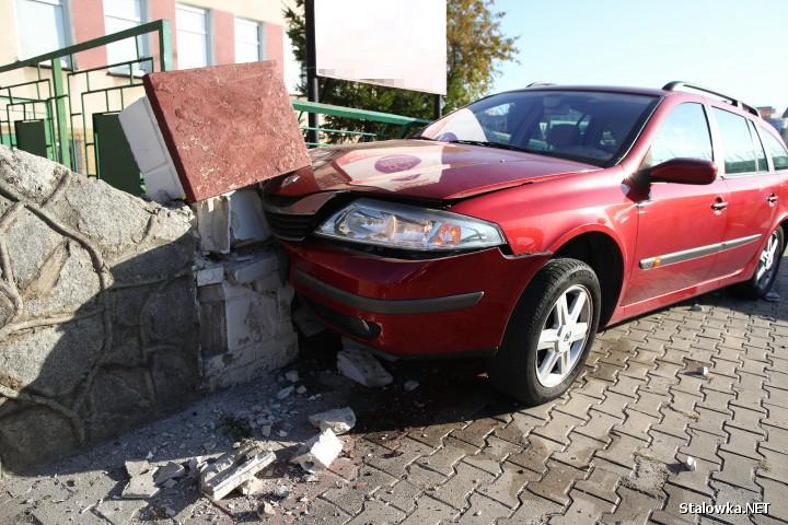 Do kolizji doszło na ulicy 1 Sierpnia w Stalowej Woli przy ZSP nr 2.