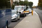 Na skrzyżowaniu przy Bazylice Mniejszej doszło do kolizji.