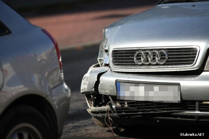 Dwie osoby ranne. Wypadek na ulicy Okulickiego w Stalowej Woli.