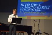 Maciej Pokora wykonał Romans na klarnecie, z akompaniamentem na fortepianie Ryszarda Marchewki.