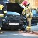 Stalowa Wola: DK77: dwa Audi zderzyły się przy Lotosie