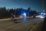 Do wypadku z udziałem motocyklisty doszło w Pysznicy na ulicy Wolności.