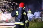 Na ulicy Przemysłowej w Stalowej Woli doszło do pożaru na składowisku odpadów.