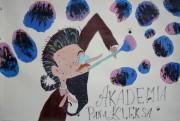 Do konkursu szkoła dołączyła pracę plastyczną, wykonaną przez uczennice klasy piątej. Dziewczynki wybrały książkę Akademia Pana Kleksa.