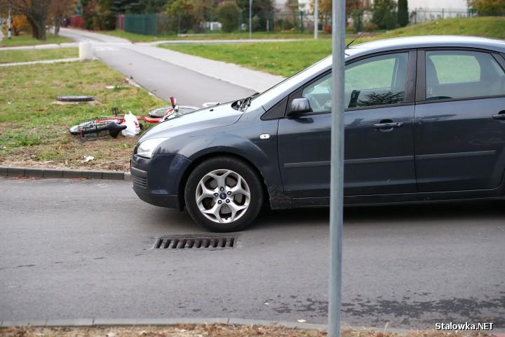 Na ulicy Okulickiego w Stalowej Woli doszło do potrącenia 50-letniej rowerzystki.