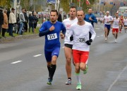 Pierwsze miejsce zdobył Iurii Vykhopen z Lwowa z czasem 16:07 (numer 215), drugie Bogdan Dziuba (numer 236) ze Stalowowolskiego Klubu Biegacza (czas 16:09 minut), trzecie Grzegorz Wójs ze Stalowowolskiego Klubu Biegacza (czas 16:44, numer 150).