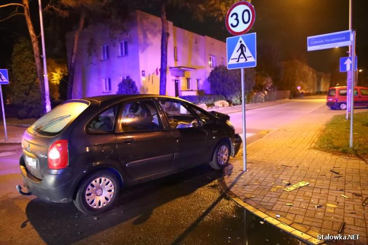 Do wypadku doszło na ulicy Skoczyńskiego w Stalowej Woli. W jednym z aut jechała dwójka dzieci.