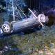 Stalowa Wola: 20-latek dachował BMW na DW-871